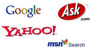 search engine logos